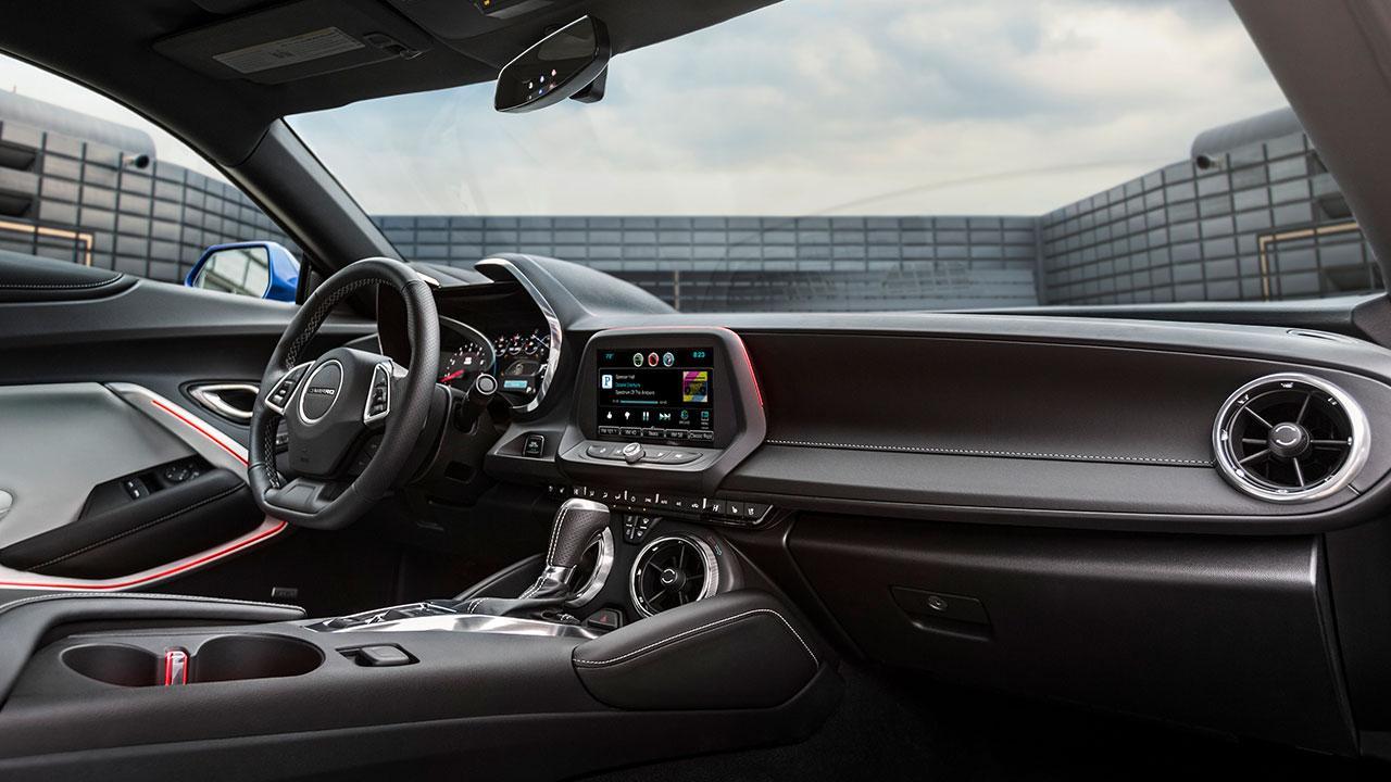Chevrolet Camaro V8 - Cockpit