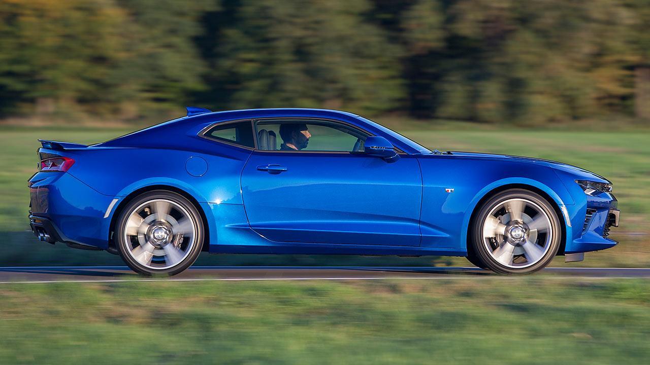 Chevrolet Camaro V8 - Seitenansicht