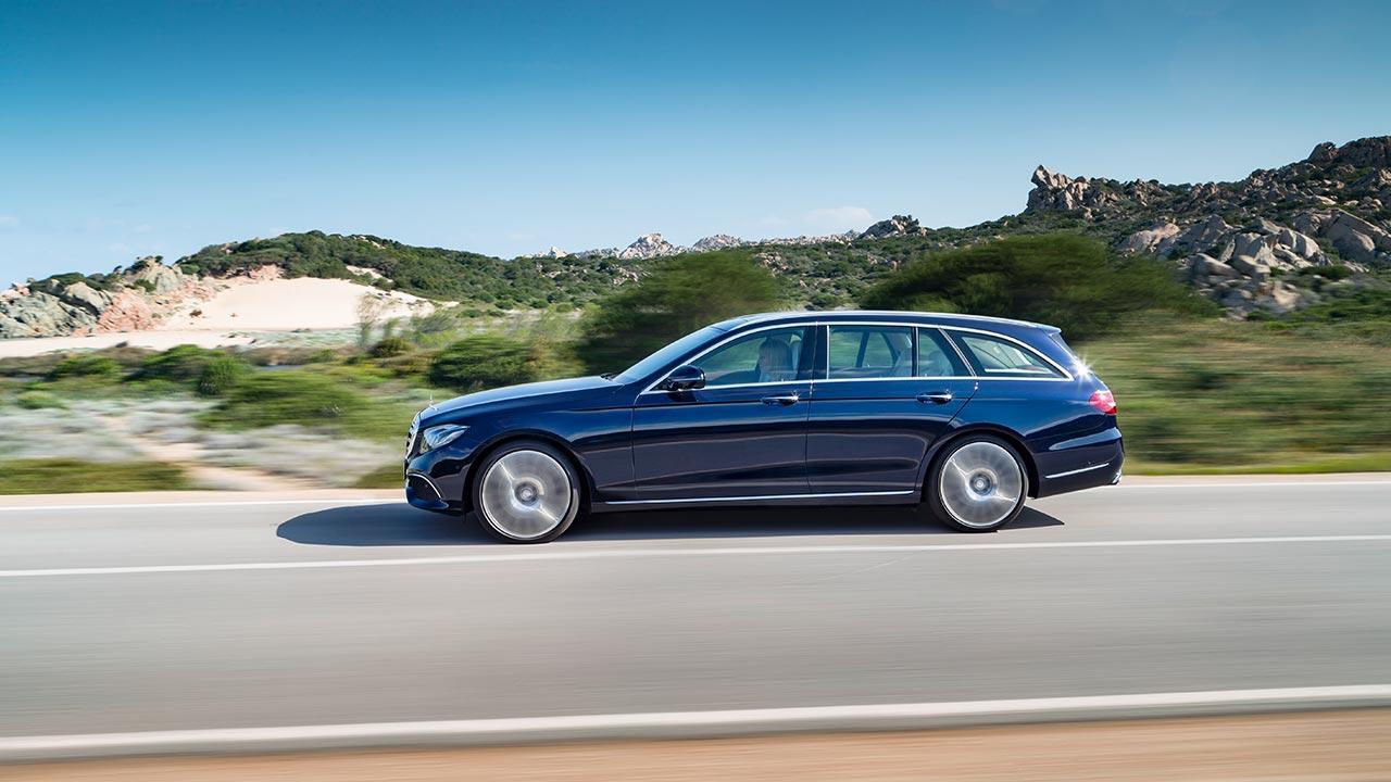 Mercedes-Benz E-Klasse T-Modell - im Grünen