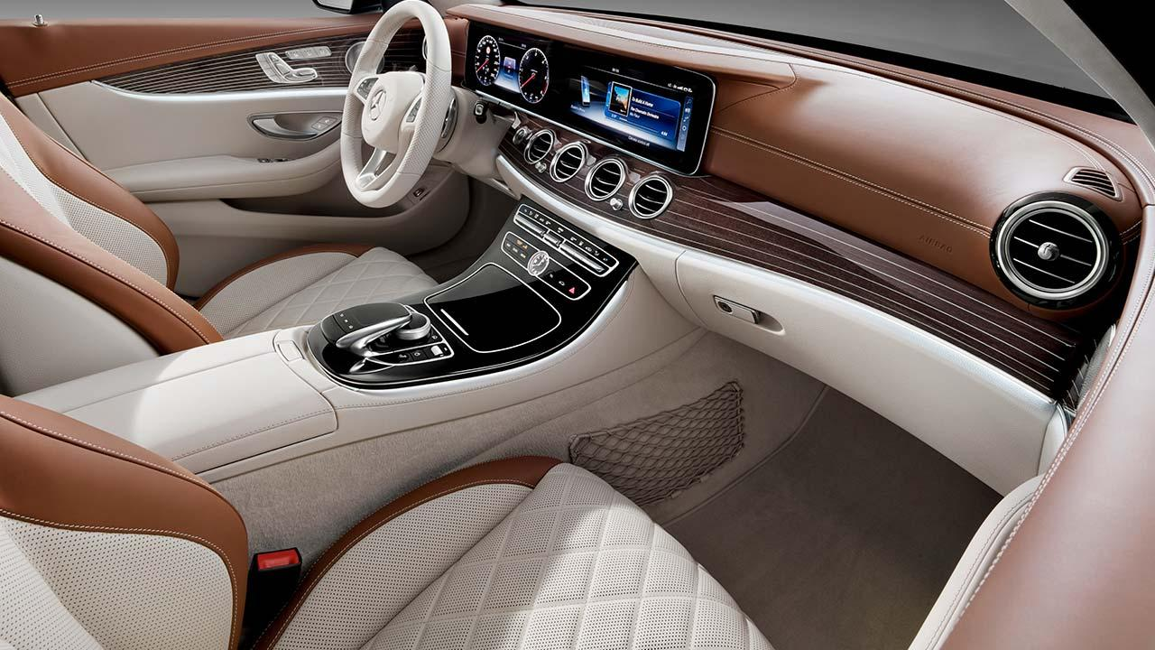 Mercedes-Benz E-Klasse T-Modell - Vordersitze