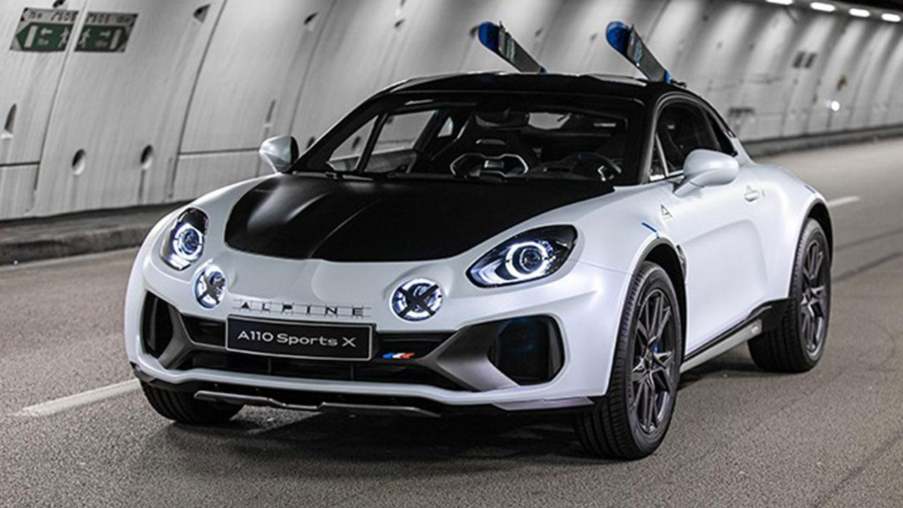 Alpine A110 Sports X - Frontansicht
