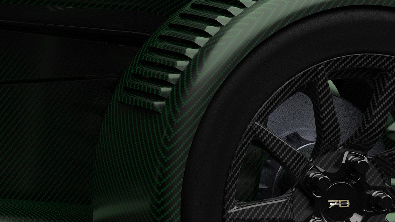 Donkervoort D8 GTO-JD70 - Carbonfelgen