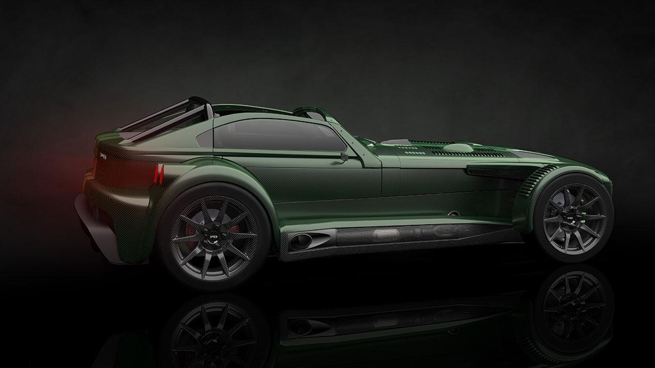 Donkervoort D8 GTO-JD70 - Heckansicht