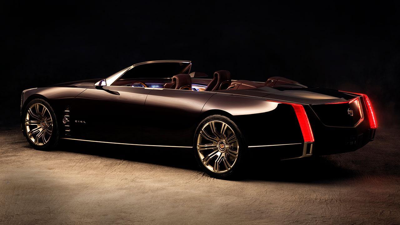 Cadillac Ciel - Traumhaft Zukünftiges Konzept - Seitenansicht