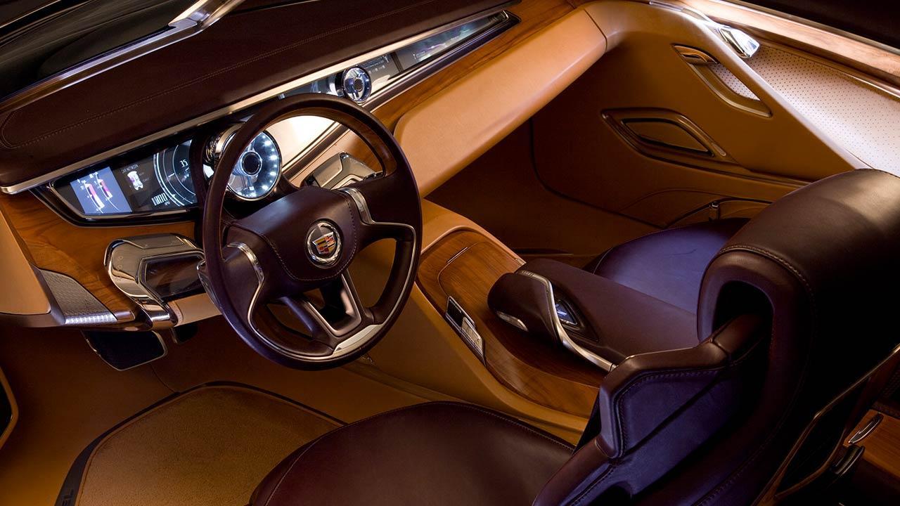 Cadillac Ciel - Traumhaft Zukünftiges Konzept - Cockpit