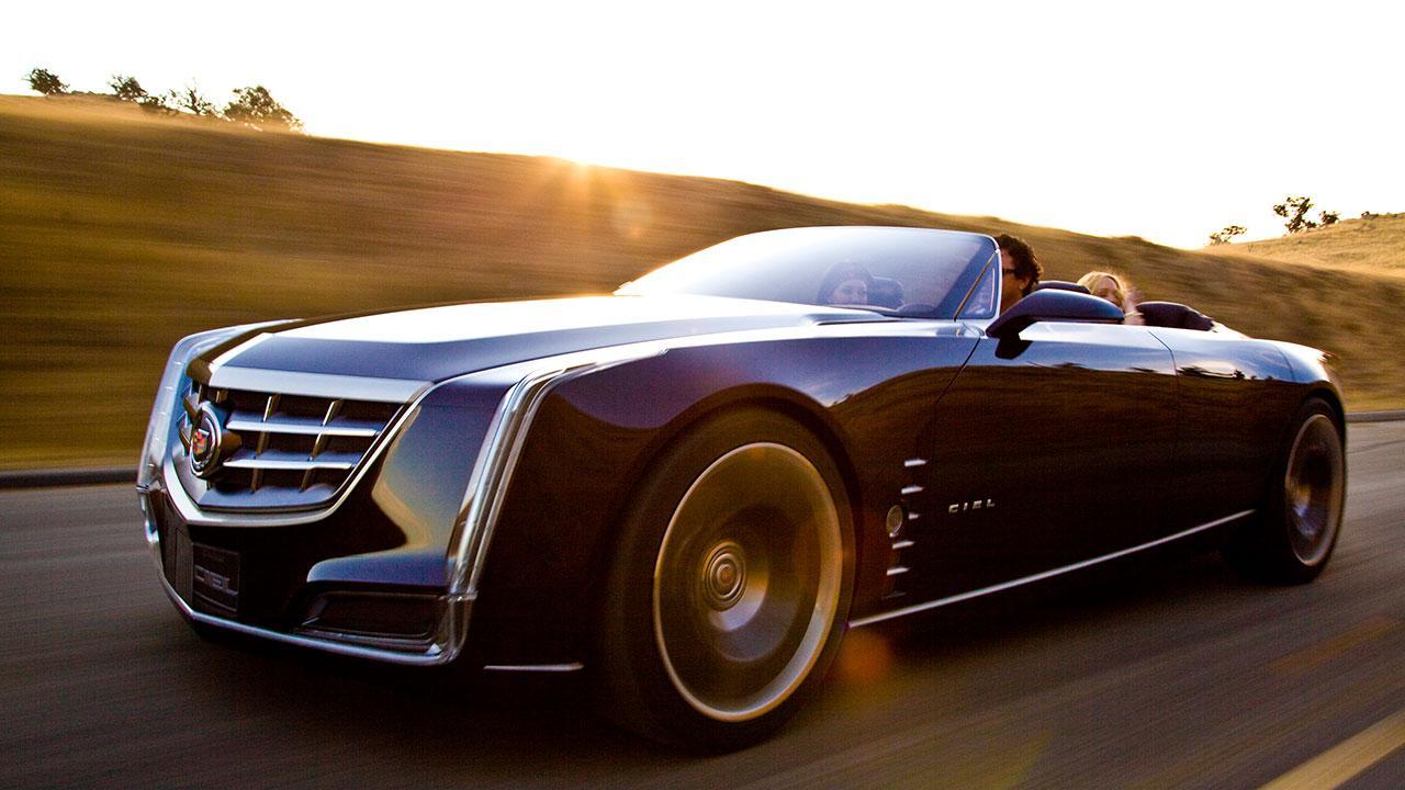 Cadillac Ciel - Traumhaft Zukünftiges Konzept - in voller Fahrt
