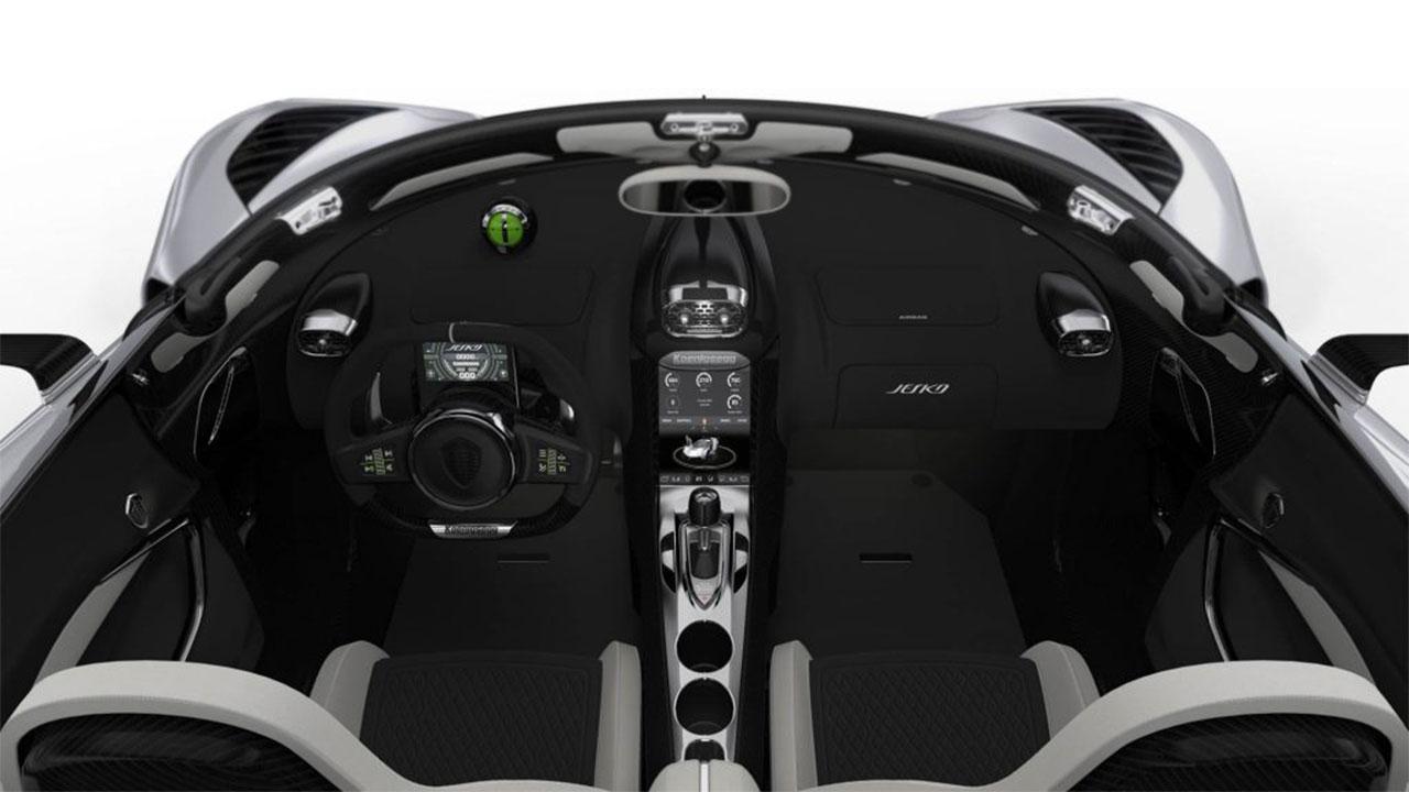 Koenigsegg Jesko - Cockpit