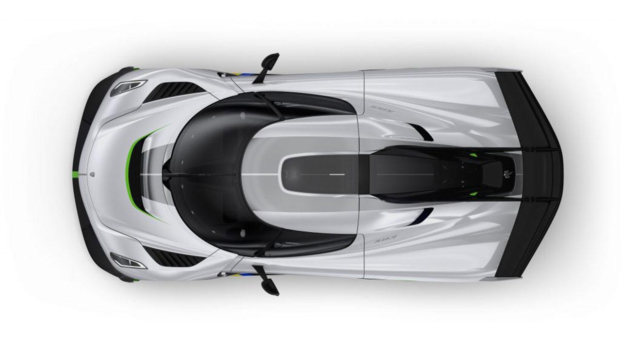Koenigsegg Jesko - Vogelperspektive