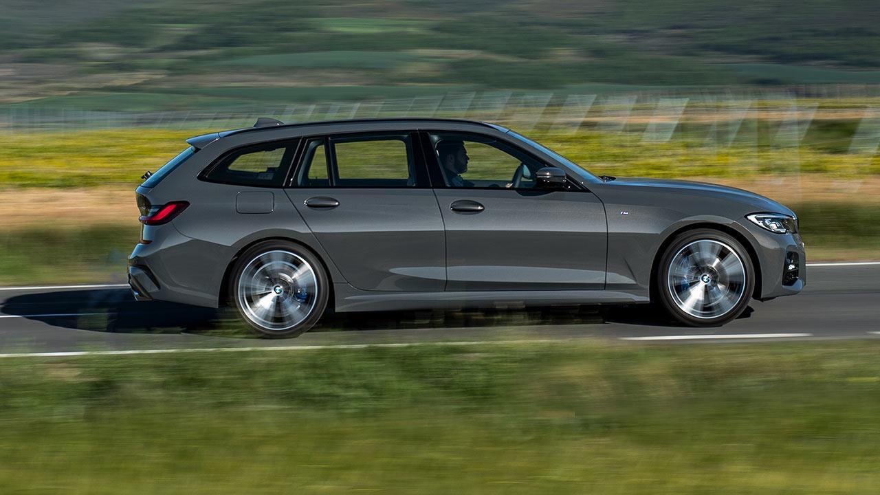 BMW Touring 318i - Seitenansicht