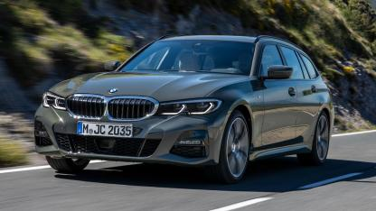 BMW Touring 318i - in voller Fahrt