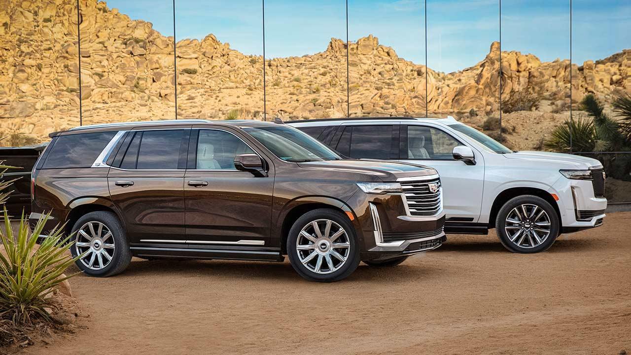 Cadillac Escalade 2021 - in 2 Farben