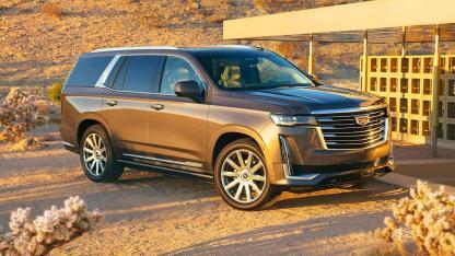 Cadillac Escalade 2021 - Seitenansicht