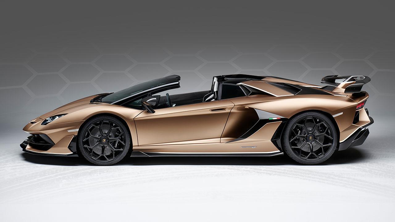 Lamborghini Aventador SVJ Roadster - Seitenansicht