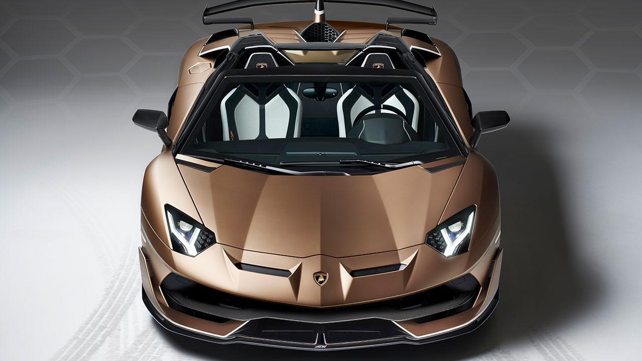 Lamborghini Aventador SVJ Roadster - Frontansicht