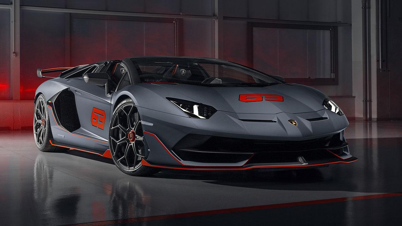Lamborghini Aventador SVJ Roadster - startbereit