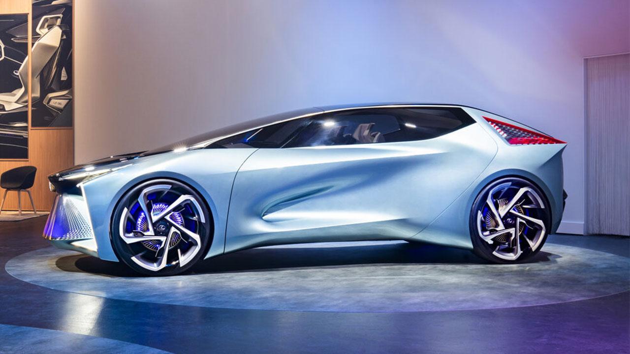 Lexus LF-30 Electrified Concept - Seitenansicht