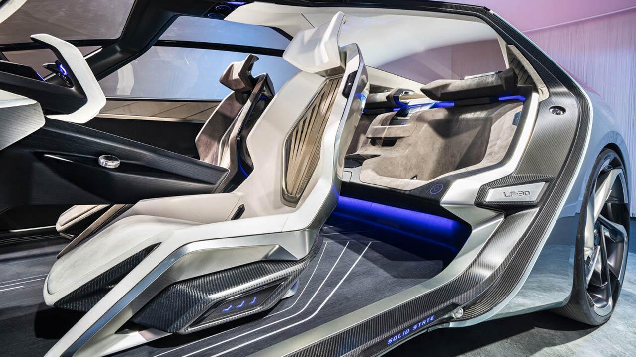 Lexus LF-30 Electrified Concept - Vordersitze
