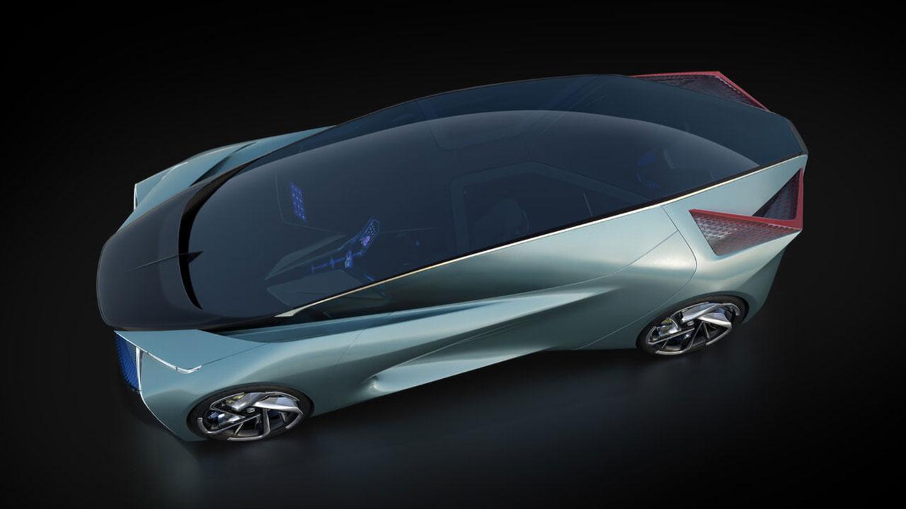 Lexus LF-30 Electrified Concept - Glasdach