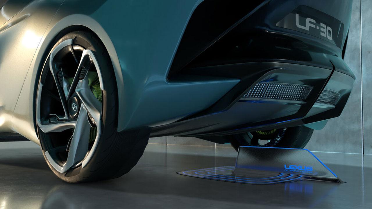 Lexus LF-30 Electrified Concept - Heck
