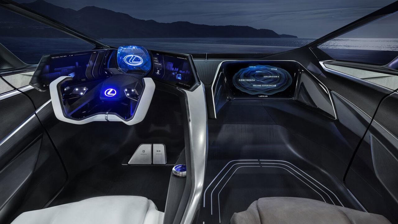 Lexus LF-30 Electrified Concept - Cockpit