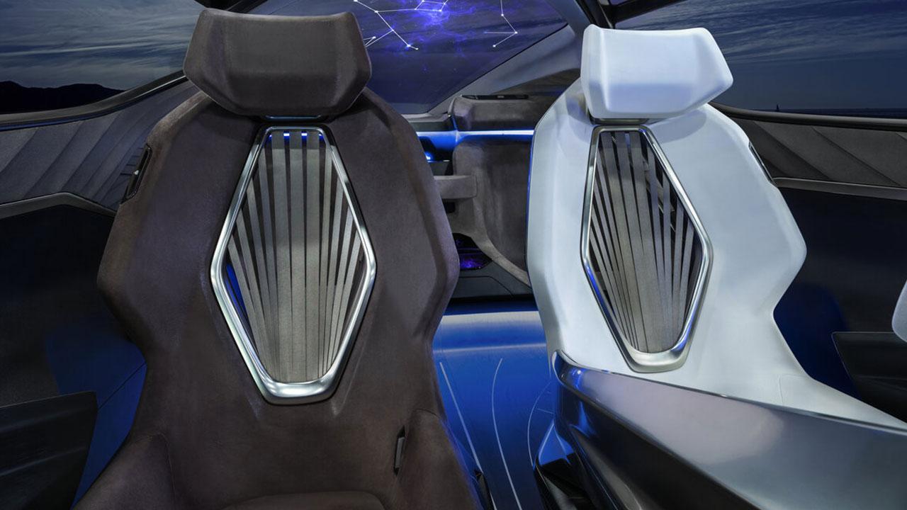 Lexus LF-30 Electrified Concept - Rücklehnen