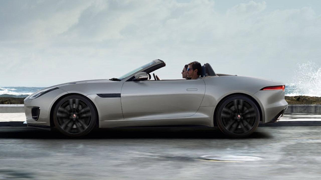 Jaguar F-Type R-Dynamic Limited Edition - Seitenansicht