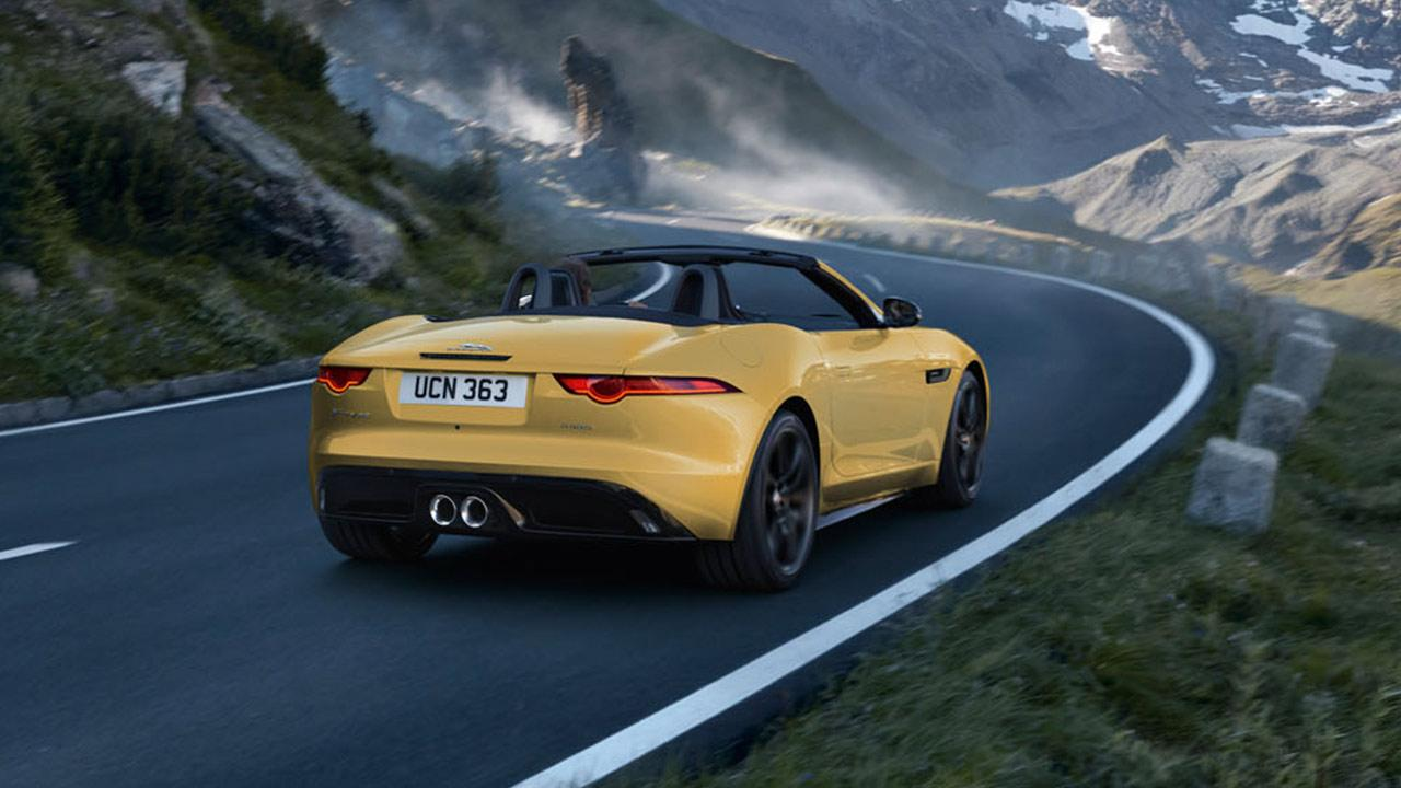 Jaguar F-Type R-Dynamic Limited Edition - Heckansicht