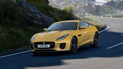 Jaguar F-Type R-Dynamic Limited Edition - in voller Fahrt