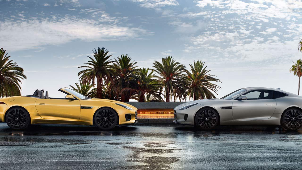 Jaguar F-Type R-Dynamic Limited Edition - 2 Farben
