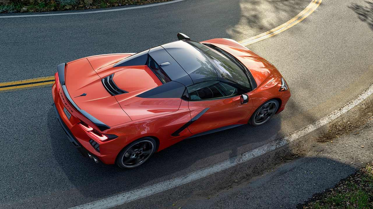 Chevrolet Corvette Stingray Convertible - in der Kurve
