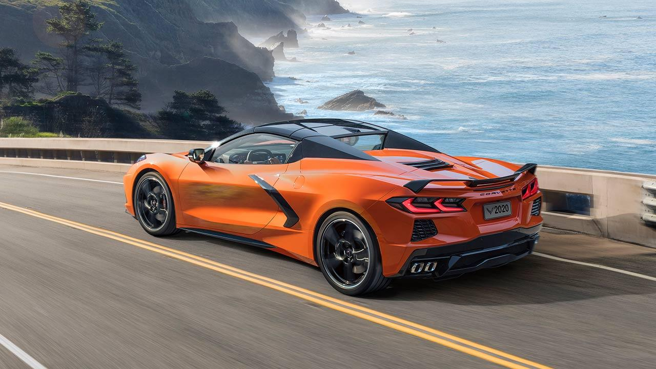 Chevrolet Corvette Stingray Convertible - Heckansicht