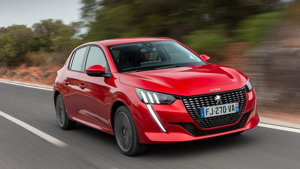 Neuer Peugeot 208 - in voller Fahrt