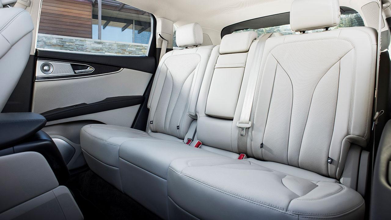 Lincoln Nautilus - Rücksitze