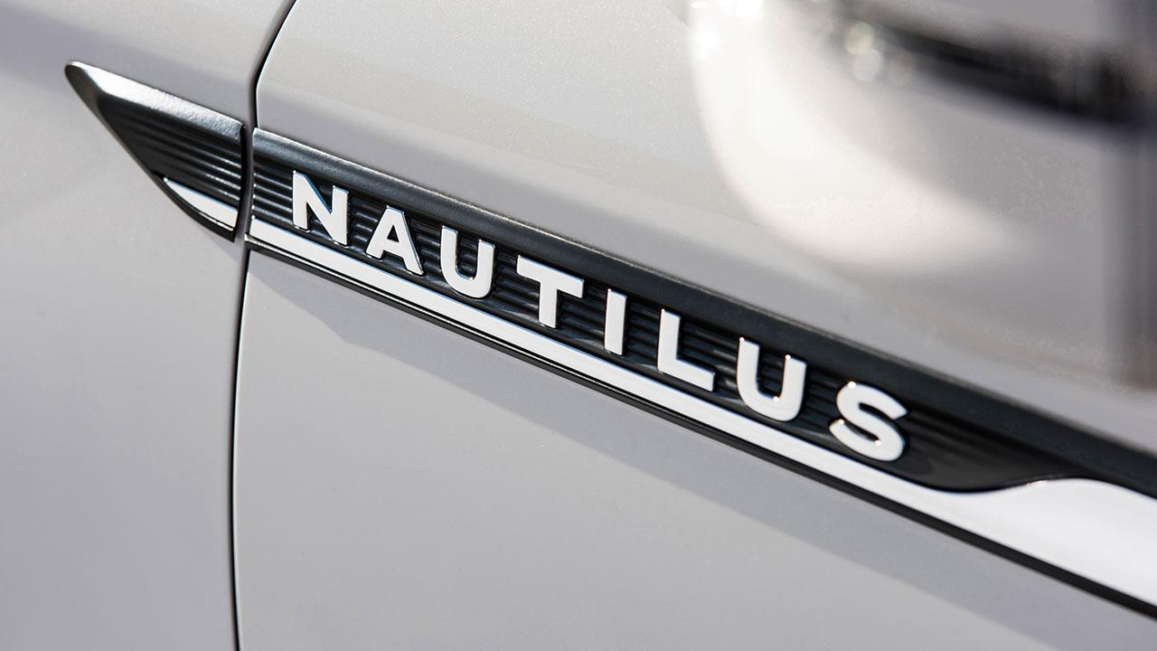 Lincoln Nautilus - Schriftzug