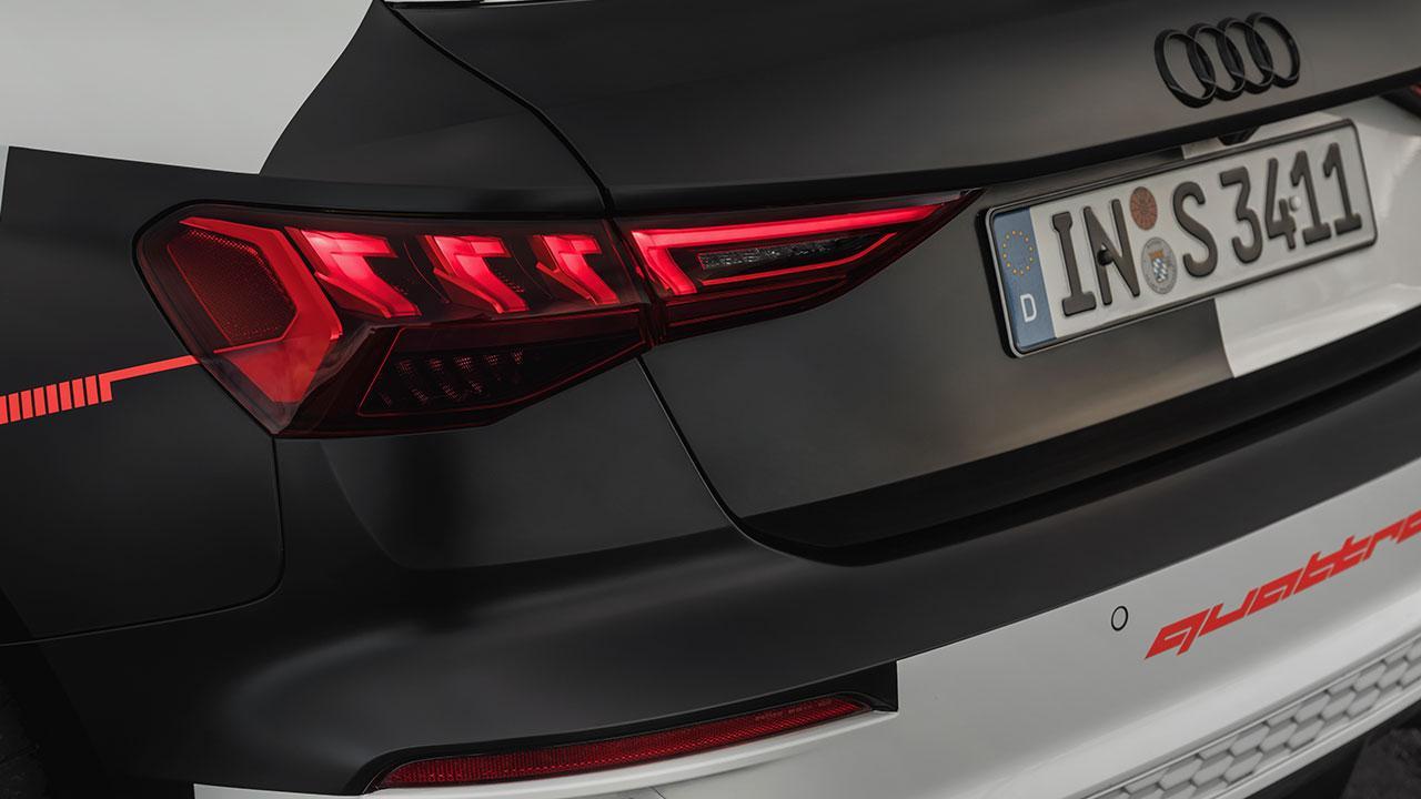 Audi A3 Sportback Prototyp  - Heck