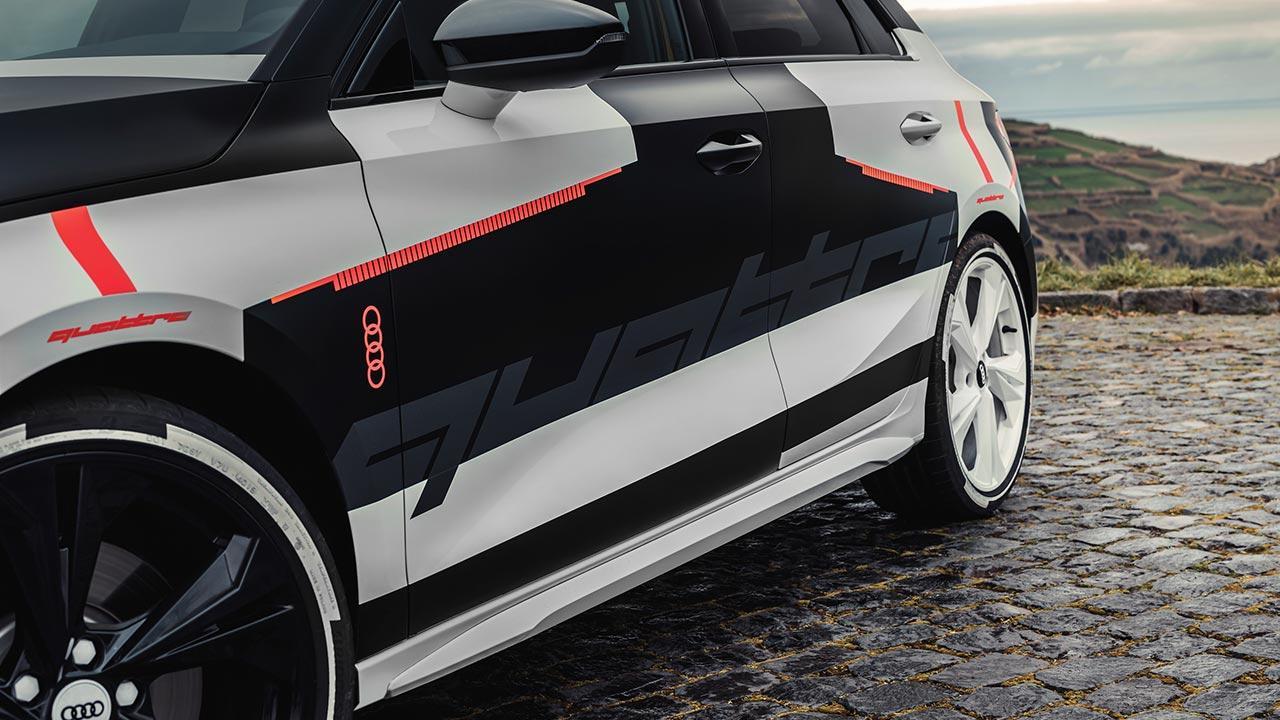 Audi A3 Sportback Prototyp  - Seite