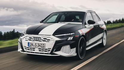 Audi A3 Sportback Prototyp  - auf der Landstraße