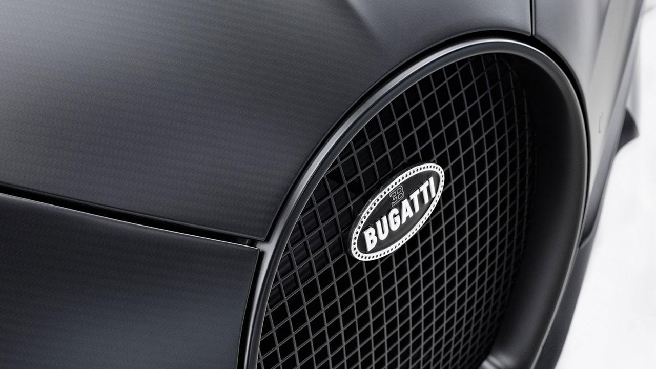 Bugatti Chiron Noire Exclusive Special Model - Kühlergrill