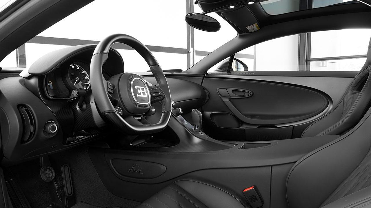 Bugatti Chiron Noire Exclusive Special Model - Cockpit