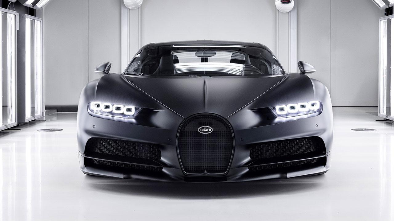 Bugatti Chiron Noire Exclusive Special Model - Frontansicht