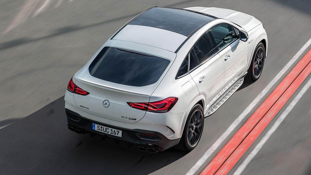 Mercedes-AMG GLE 63 S 4MATIC+ Coupé - Vogelperspektive