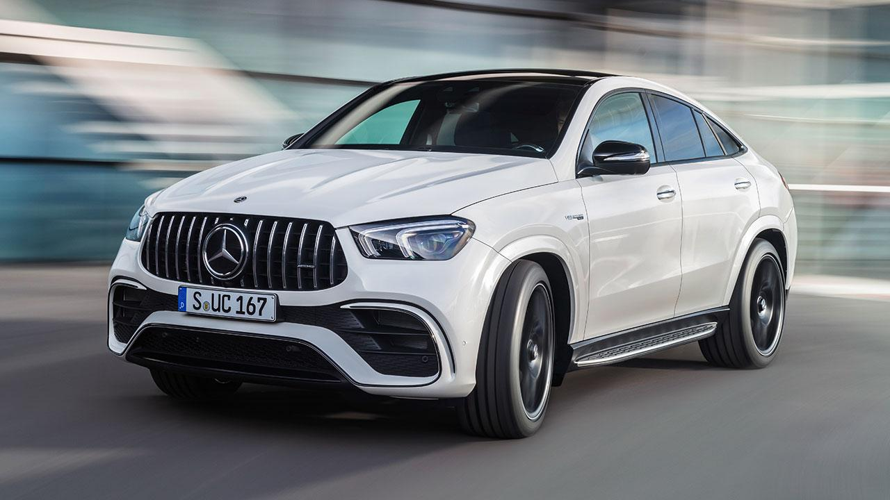 Mercedes-AMG GLE 63 S 4MATIC+ Coupé - in voller Fahrt