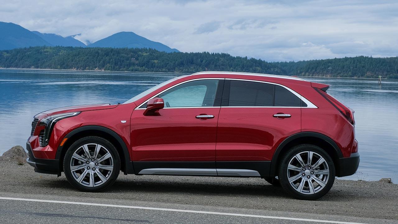 Cadillac XT4 Launch Edition Sport - Seitenansicht