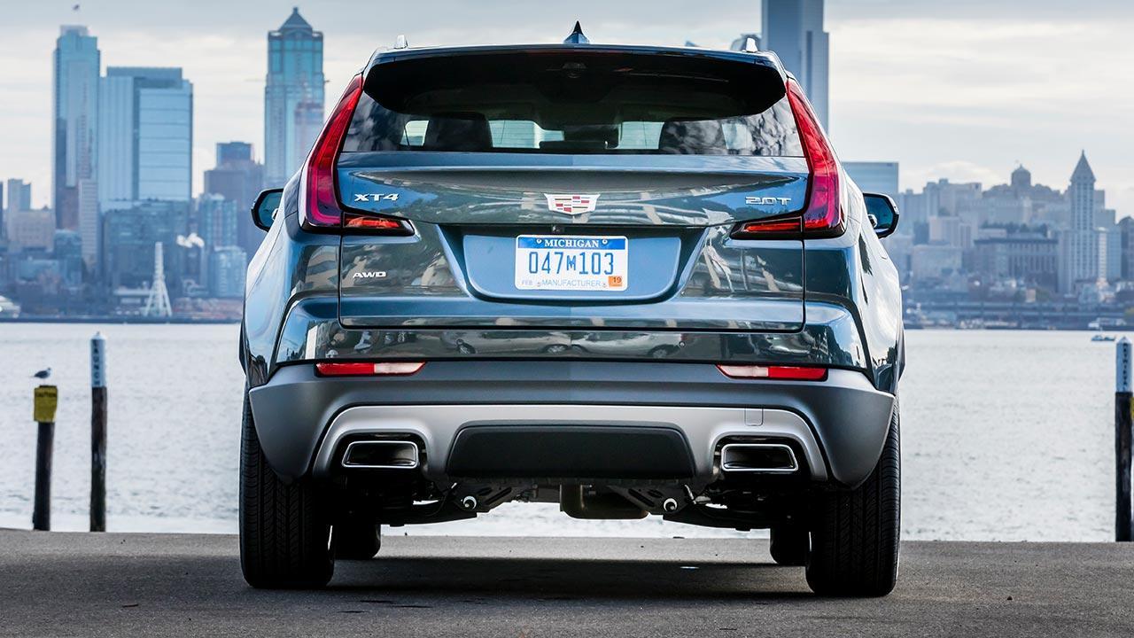 Cadillac XT4 Launch Edition Sport - Rückansicht