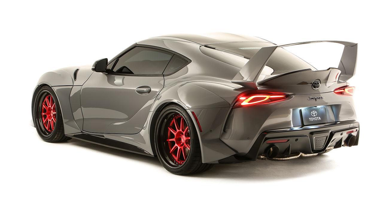 Toyota Supra Hyperboost Edition - Heckansicht