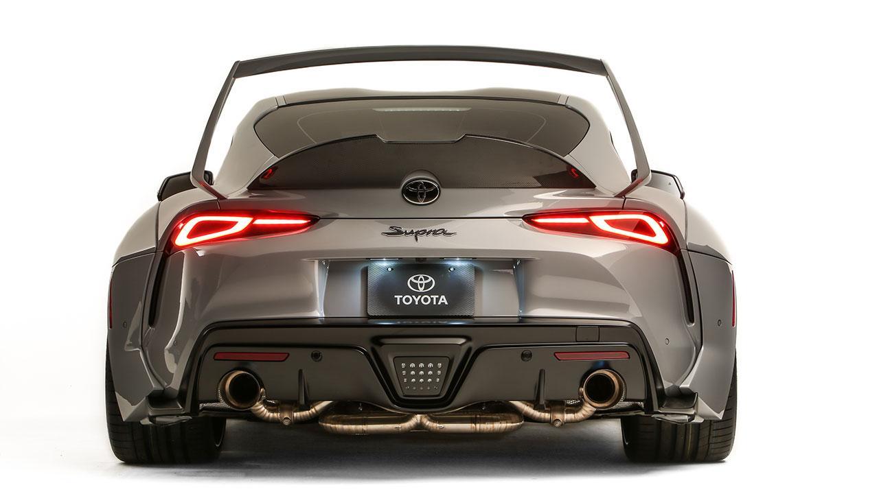 Toyota Supra Hyperboost Edition - Heck