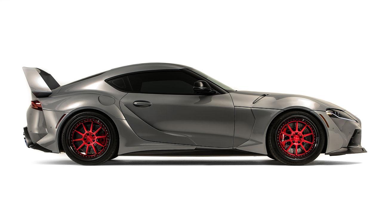 Toyota Supra Hyperboost Edition - Seiteansicht