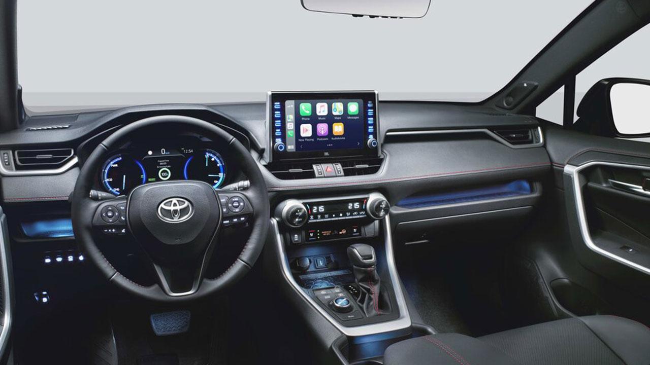 Toyota RAV4 Plug-in Hybrid - Cockpit