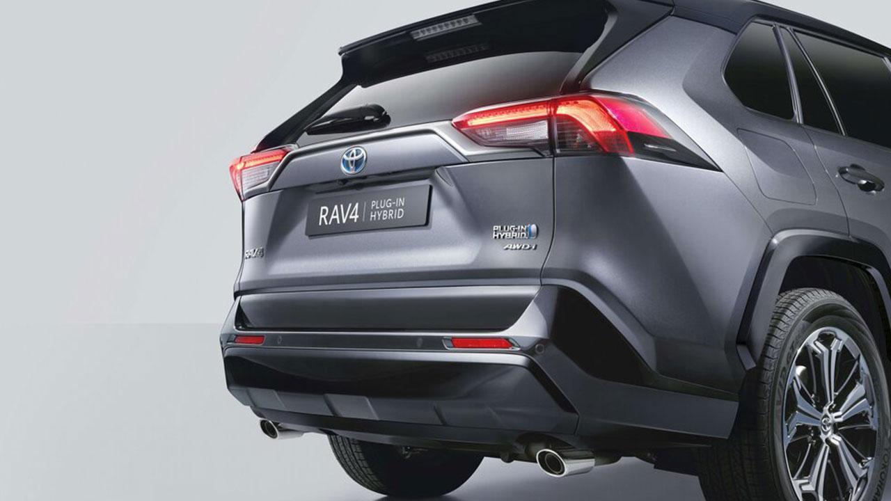 Toyota RAV4 Plug-in Hybrid - Heck