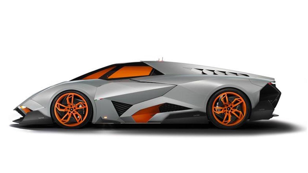 Lamborghini Egoista - Seitenansicht